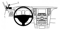 Fixation voiture Proclip  Brodit Infiniti FX35 Réf 804243