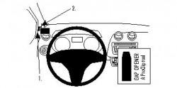 Fixation voiture Proclip  Brodit Seat Ibiza Réf 804272