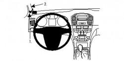 Fixation voiture Proclip  Brodit Buick Regal Réf 804278