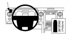 Fixation voiture Proclip  Brodit Ford F-Series 150  SEULEMENT pour les modèles avec garniture argent ou le grain du bois. Réf 804309