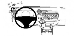 Fixation voiture Proclip  Brodit Honda Insight Réf 804313