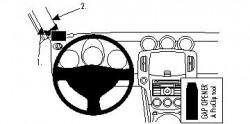 Fixation voiture Proclip  Brodit Nissan 370 Z Réf 804315