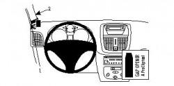 Fixation voiture Proclip  Brodit Peugeot 206+ Réf 804343