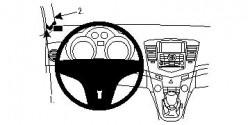 Fixation voiture Proclip  Brodit Chevrolet Cruze Réf 804351