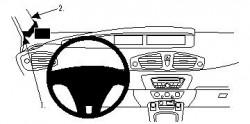 Fixation voiture Proclip  Brodit Renault Scenic Réf 804392