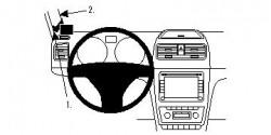 Fixation voiture Proclip  Brodit Skoda Yeti Réf 804395