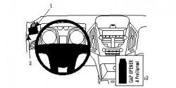 Fixation voiture Proclip  Brodit Chevrolet Equinox Réf 804408