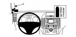 Fixation voiture Proclip  Brodit Hyundai i30 Réf 804428