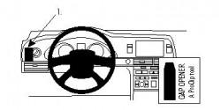 Fixation voiture Proclip  Brodit Audi A6 Réf 804431