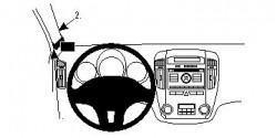 Fixation voiture Proclip  Brodit Kia cee'd Réf 804435