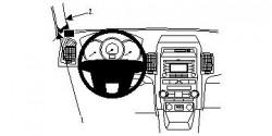 Fixation voiture Proclip  Brodit Kia Sorento Réf 804448
