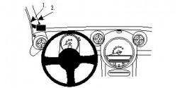 Fixation voiture Proclip  Brodit Mini Cooper Country Man Réf 804566