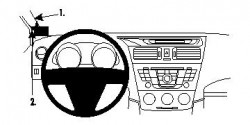 Fixation voiture Proclip  Brodit Mazda 5 Réf 804624