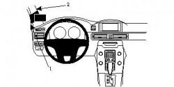 Fixation voiture Proclip  Brodit Volvo S80 Réf 804675