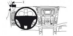 Fixation voiture Proclip  Brodit Hyundai i40 Réf 804687