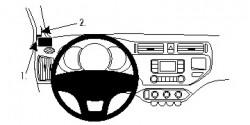 Fixation voiture Proclip  Brodit Kia Rio Réf 804690