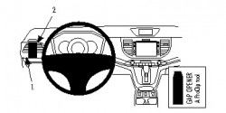 Fixation voiture Proclip  Brodit Honda CR-V Réf 804770