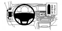 Fixation voiture Proclip  Brodit Honda Accord Réf 804821