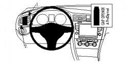 Fixation voiture Proclip  Brodit Volkswagen Golf VII Réf 804855