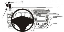 Fixation voiture Proclip  Brodit Nissan Qashqai Réf 804994