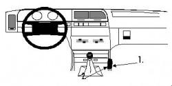 Fixation voiture Proclip  Brodit Citroen Xantia Réf 832304