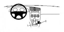 Fixation voiture Proclip  Brodit Infiniti G20 Réf 832323
