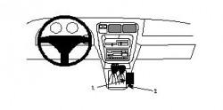 Fixation voiture Proclip  Brodit Toyota 4Runner Réf 832400