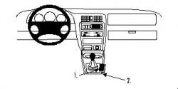 Fixation voiture Proclip  Brodit Mazda 323 Réf 832418