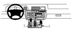 Fixation voiture Proclip  Brodit Lexus LX Series Réf 832462