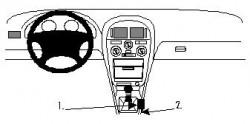 Fixation voiture Proclip  Brodit Mitsubishi Carisma Réf 832475