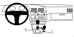 Fixation voiture Proclip  Brodit Toyota 4Runner Réf 832483