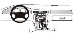 Fixation voiture Proclip  Brodit Jaguar XJ8 Réf 832516