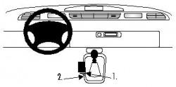 Fixation voiture Proclip  Brodit Renault Espace Réf 832524