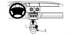 Fixation voiture Proclip  Brodit Renault Kangoo Réf 832533