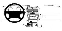 Fixation voiture Proclip  Brodit Lexus GS Series Réf 832541