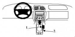 Fixation voiture Proclip  Brodit Daewoo Nubira Réf 832587