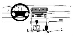 Fixation voiture Proclip  Brodit BMW 316-330/M3 E46 Réf 832601