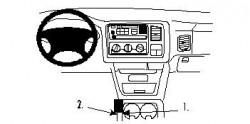 Fixation voiture Proclip  Brodit Chevrolet Avalanche Réf 832652