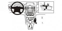Fixation voiture Proclip  Brodit Nissan Almera Réf 832810