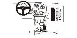 Fixation voiture Proclip  Brodit Hyundai Coupe Réf 832815