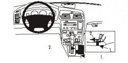 Fixation voiture Proclip  Brodit Volvo V70 N Réf 832820