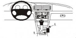 Fixation voiture Proclip  Brodit Volkswagen Passat Réf 832860