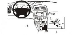 Fixation voiture Proclip  Brodit Volvo V70 N Réf 832912