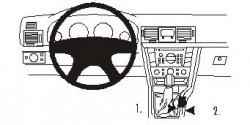 Fixation voiture Proclip  Brodit Opel Signum Réf 833079