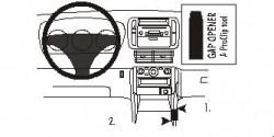 Fixation voiture Proclip  Brodit Honda Pilot Réf 833098