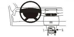 Fixation voiture Proclip  Brodit Renault Espace Réf 833185