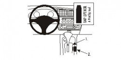 Fixation voiture Proclip  Brodit Honda Insight Réf 833310