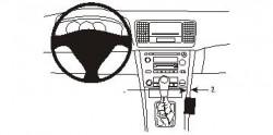 Fixation voiture Proclip  Brodit Subaru Legacy Réf 833390