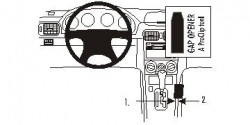Fixation voiture Proclip  Brodit Subaru Forester Réf 833391