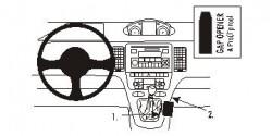 Fixation voiture Proclip  Brodit Fiat Idea Réf 833430